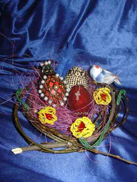 Бисероплетение ива - Делаем фенечки своими руками.